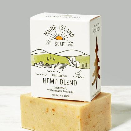 Bar Harbor Hemp Blend Soap by Artisan Maine Island Soap