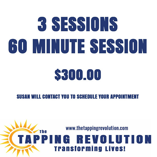 3 sessions 60 Minute Coaching Sessions