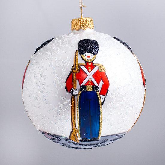 "#2172 - Thomas Glenn ""Toyland"" Ball Christmas Ornament"