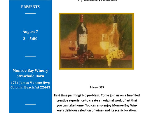 A Brush with Wine/ Art of Wine, Aug 7, 2021