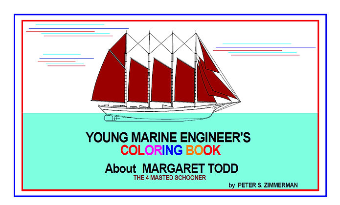 Young Marine Engineer's Coloring Book | About Margaret Todd