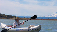 Kayaking Haystack Reservoir
