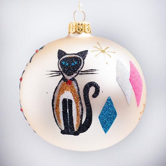 "#2162 - Thomas Glenn ""Frisky"" Ball Christmas Ornament"