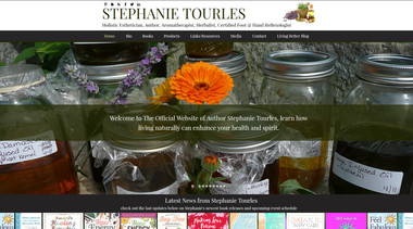 Author Stephanie Tourles
