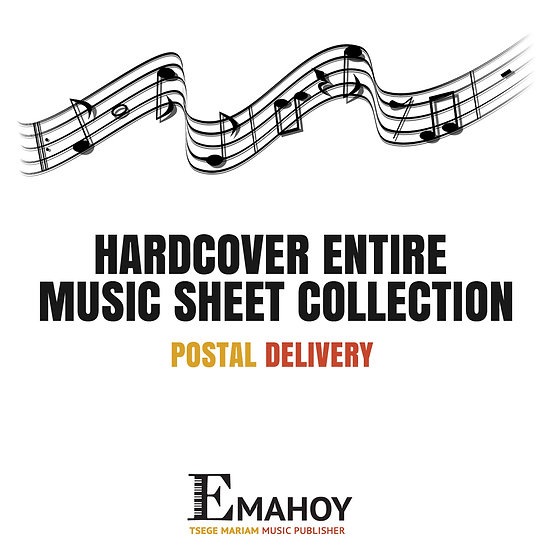 Hardcover Entire Music Sheet Collection