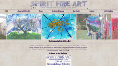 Spirit Fire Art