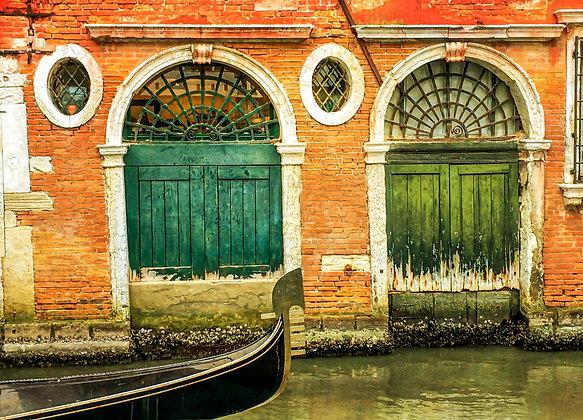Venice Doors and Gondola
