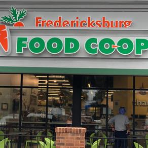 Fredericksburg Food Co-op features Brush Strokes Art