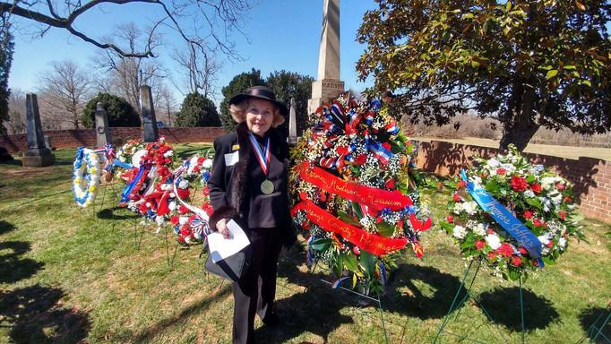 Madison Birthday HMT with wreath