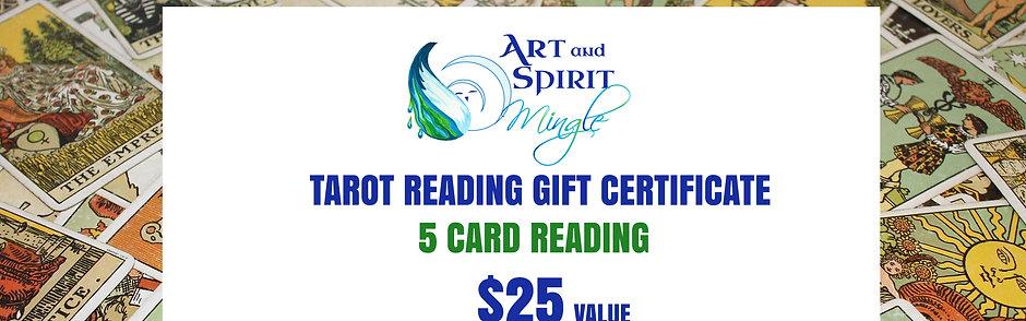 Tarot Reading Gift Certificate