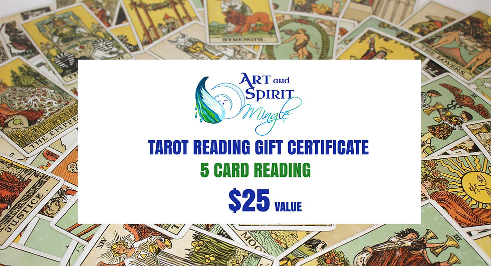 Tarot Reading Gift Certificate
