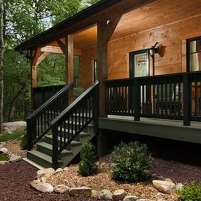 2020 SUMMER FEATURE LOG HOME: HUBBARD-RHODES