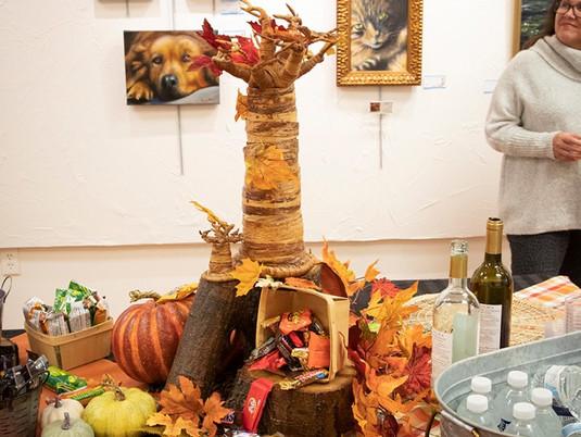 October First Friday at Brush Strokes Gallery