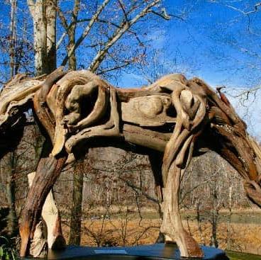 Turtlepoint Driftwood Sculptures