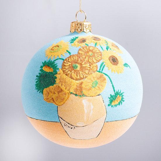 """#2128 - Thomas Glenn """"Vincent"""" Ball Christmas Ornament"""