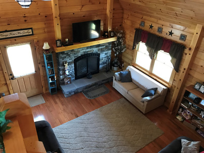 high view living room