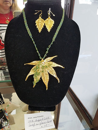 Autumn Inspired Handcrafted Necklace