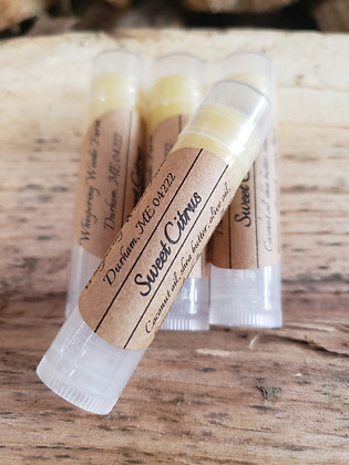 Lip Balm made by Whispering Woods Farm