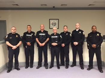 Gordonsville Police Department 2020