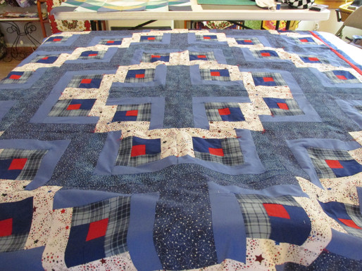 Finished Quilts from Our Last Quilt making Class at The Lupine Cottage