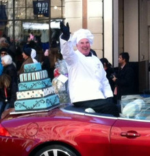 Alan, CEO, had a great time in the parade at Reston Town Center