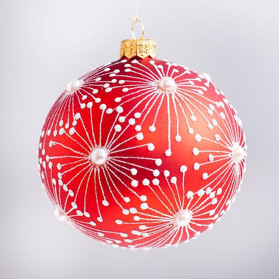 "#2163 - Thomas Glenn ""Orbitz"" Ball Christmas Ornament"