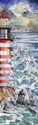 Giclee Light House Print by Artisan Helen Messemer