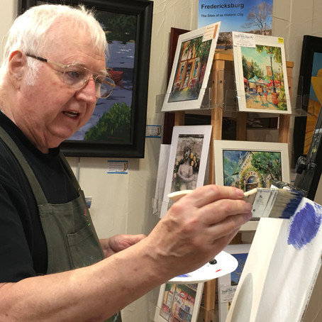 Our Artists Do Hold Classes for Small Groups