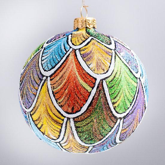 "#2117 - Thomas Glenn ""Icarus"" Ball Christmas Ornament"