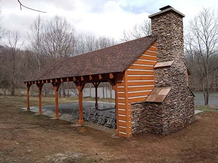Outdoor Structures from Timberhaven Log & Timber Homes