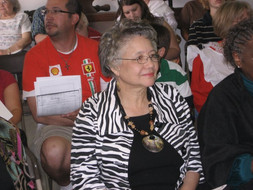 James Madison Museum honored Guest Rebecca Colemam