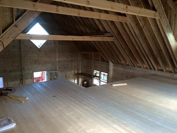 Bard Interior Under Construction 2nd Lev