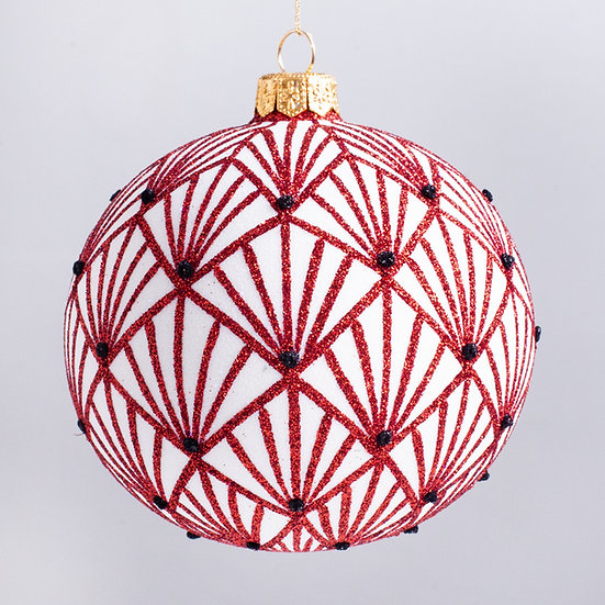 "#2121 - Thomas Glenn ""The Grand"" Ball Christmas Ornament"