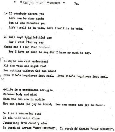 Emahoy Poem