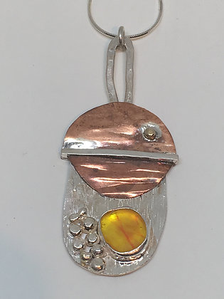 Moon over Vermont Necklace