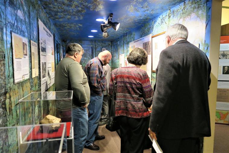 Opening of Native American Exhibit