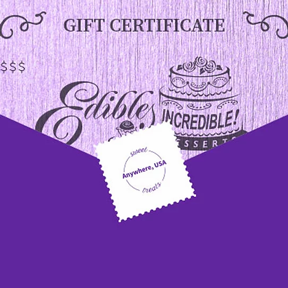 Snail Mail Gift Certificate