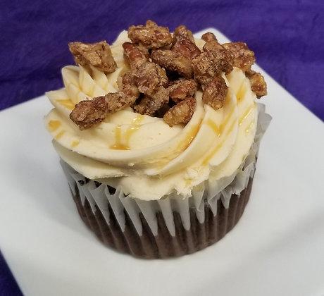 Bourbon Pecan Pie Cupcake -  AAYDS