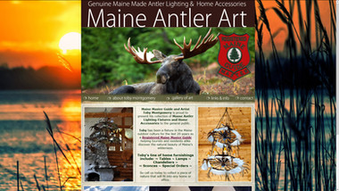 Maine Antler Art