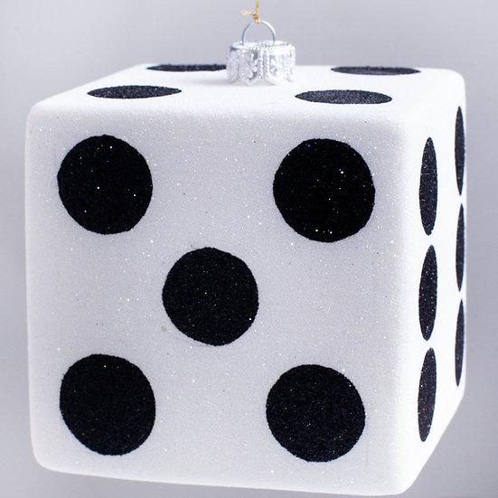 "#2193C - Thomas Glenn ""Dice"" Cube Christmas Ornament"
