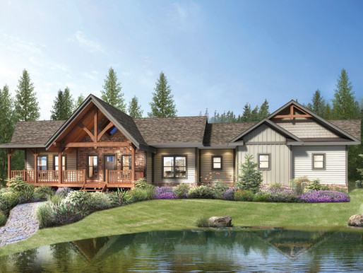 ANNOUNCING THE SARATOGA HOME DESIGN: TIMBER FRAME OR HYBRID HOME