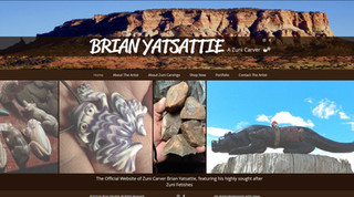 Zuni Carver Brian Yatsattie