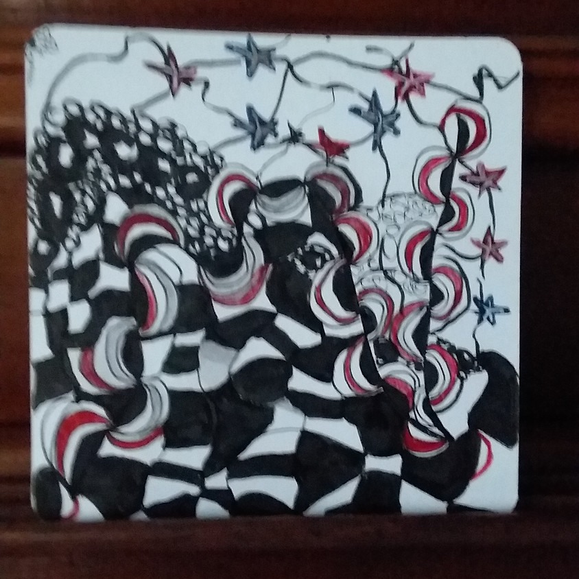 A Brush with Wine/ New Wave, Stars, and Stripes