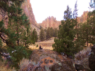 Photographing at Smith Rock
