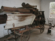 Thresher, possibly 1920's or earlier.