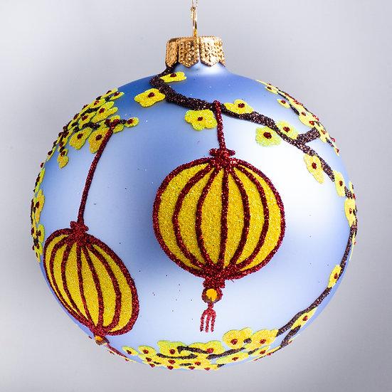 "#2180 - Thomas Glenn ""Shinto"" Ball Christmas Ornament"