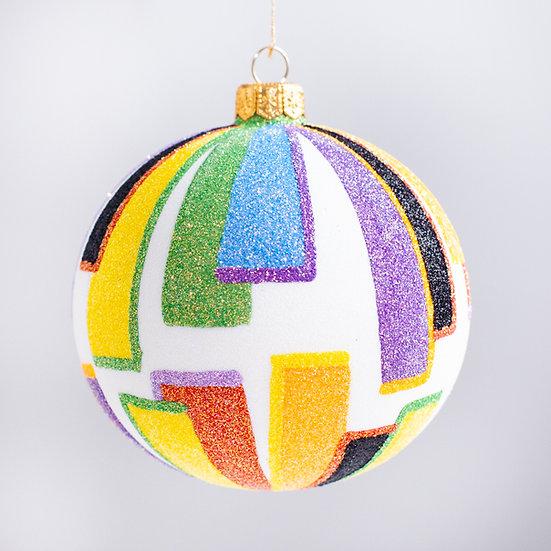 "#2114 - Thomas Glenn ""Insight"" Ball Christmas Ornament"