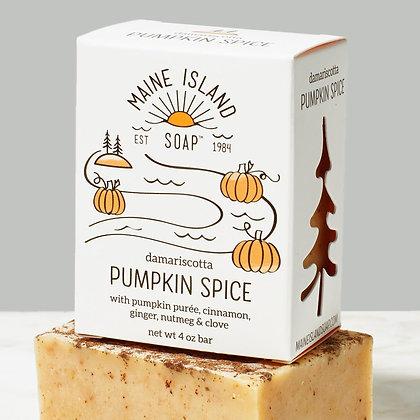 Damariscotta Pumpkin Spice Soap by Artisan Maine Island Soap