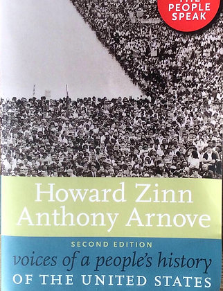 Voices of a People's History of the United States 2nd Edition by Howard Zinn