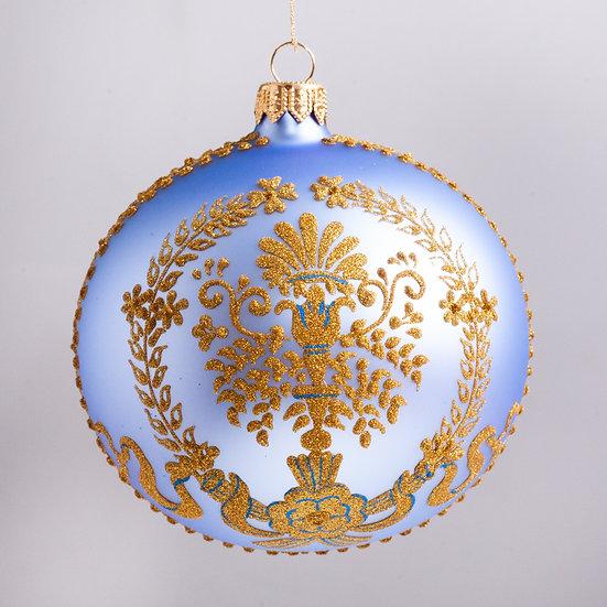 "#2143 - Thomas Glenn ""Rococo"" Ball Christmas Ornament"
